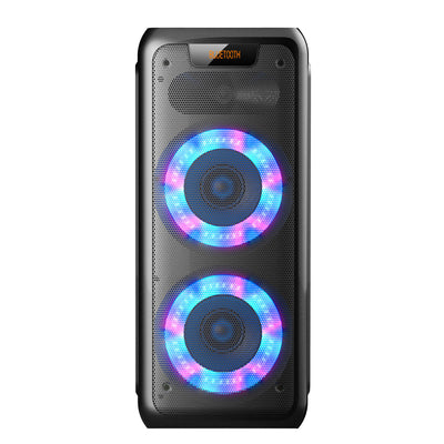 Sylvania SP961 Bluetooth Light-Up Speaker - SP961-BLACK | Haut-parleur portatif illuminé Sylvania SP961 avec Bluetooth | SP961BTS