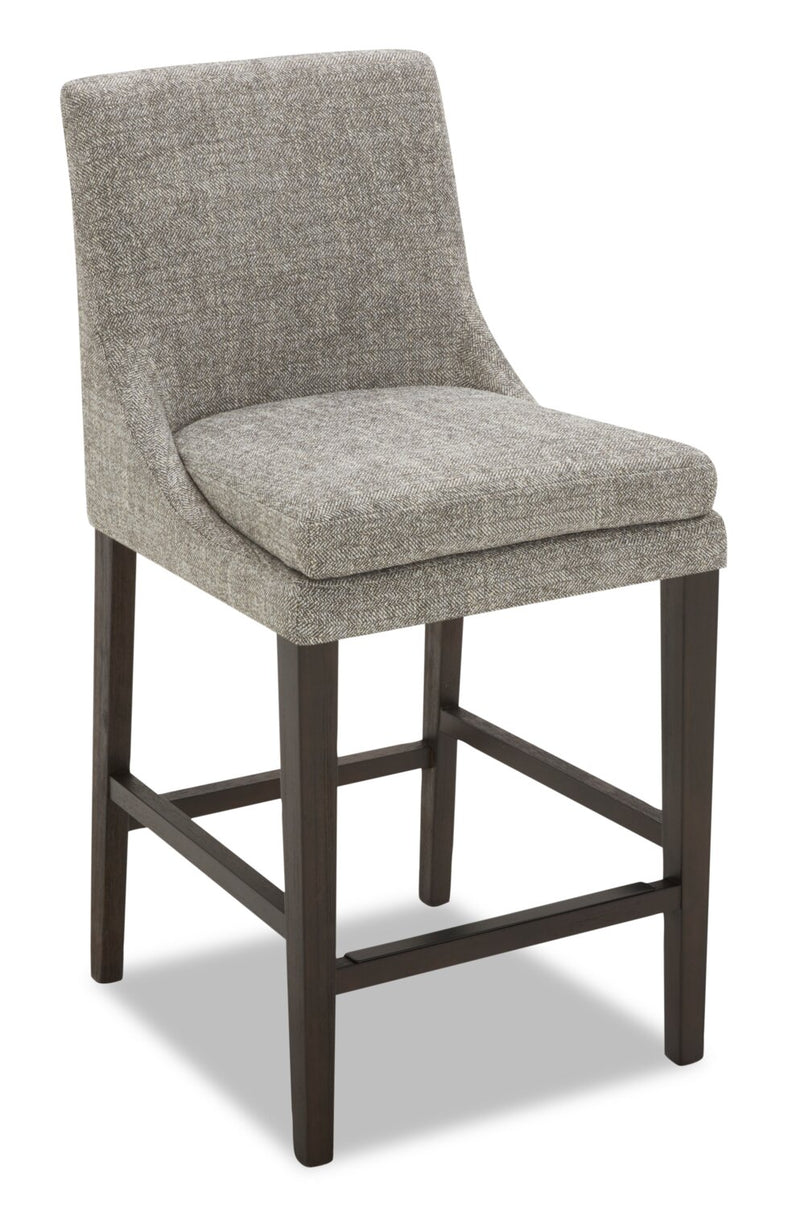 Shilo Counter-Height Bar Stool - Grey | Tabouret Shilo de hauteur comptoir - gris | SHILGCST