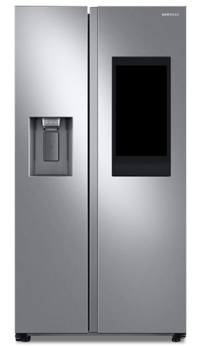 Samsung 21.5 Cu. Ft. Family Hub™ Side-by-Side Refrigerator - RS22T5561SR/A - Refrigerator in Fingerprint-Resistant Stainless Steel