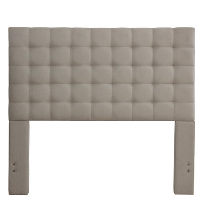 Bergen King Headboard - Dove Grey