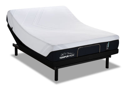 TEMPUR-Support 2.0 Medium Hybrid Twin XL Mattress with Reflexion® Pulse Adjustable Base | Matelas TEMPUR-Support 2.0 Medium Hybrid pour lit simple très long et base ajustable Reflexion Pulse  | SH2PJXTP
