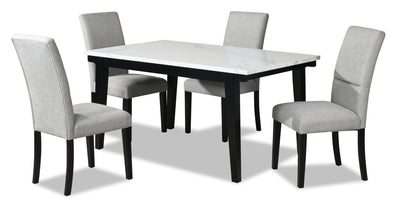 Verona 5-Piece Dining Package with Rectangular Dining Table | Ensemble de salle à manger Verona 5 pièces avec table rectangulaire | VEROMDP5