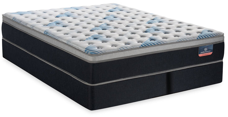 Serta Perfect Sleeper Performance Focus Eurotop Split Queen Mattress Set | Ensemble matelas à Euro-plateau divisé Focus Performance Perfect SleeperMD de Serta pour grand lit | FOCSFSQP