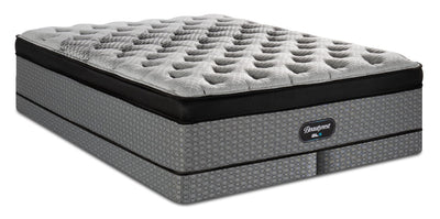 Beautyrest® GL6 Eurotop Low-Profile Split Queen Mattress Set