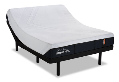 TEMPUR-Support 2.0 Firm Queen Mattress with Reflexion® by Sealy Boost 2.0 Adjustable Base | Matelas TEMPUR-Support 2.0 Firm pour grand lit avec base ajustable Reflexion Boost 2.0 de Sealy  | SFB2ADQP