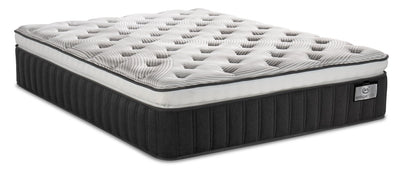 Serta Vintage Hybrid Symmetry Super Pillowtop Twin XL Mattress | Matelas à plateau-coussin épais Symmetry Vintage Hybrid de Serta pour lit simple très long | SYMMEXTM