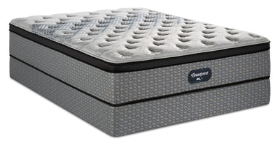 Beautyrest® GL4 Eurotop Twin Mattress Set
