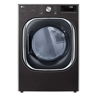 LG 7.4 Cu. Ft. ThinQ® AI-Enabled Front-Load Electric Dryer - DLEX4500B | Sécheuse électrique LG de 7,4 pi3 à chargement frontal avec technologie IA ThinQMD - DLEX4500B | DLEX4500