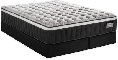 Serta Vintage Hybrid Infinity Eurotop Split Queen Mattress Set