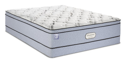 Beautyrest® Hotel 3 Eurotop Low-Profile Queen Mattress Set | Ensemble matelas à Euro-plateau à profil bas Hotel 3 de BeautyrestMD pour grand lit | 3HTLBLQP