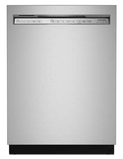 KitchenAid 39 dB Front-Control Dishwasher with Third Level Rack - KDFE204KPS | Lave-vaisselle KitchenAid de 39 dB avec commandes à l'avant et 3e panier - KDFE204KPS | KDFE20KP