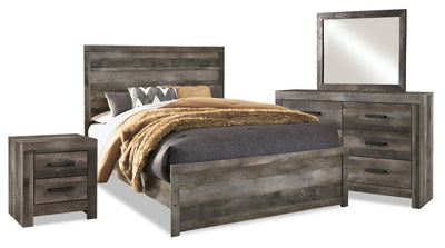 Sawyer 6-Piece Queen Bedroom Package | Ensemble de chambre à coucher Sawyer 6 pièces avec grand lit  | SAWYGQP6