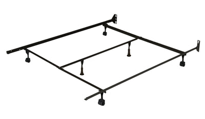 Extra-Long Twin/Full/Queen Deluxe Rug Roller Bed Frame