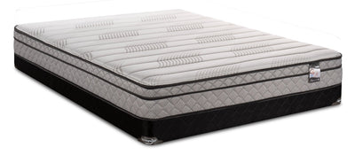 Springwall Enchantment Eurotop Full Low-Profile Mattress Set