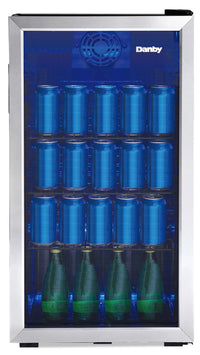 Danby 3.1 Cu. Ft. Beverage Centre with 117 Can Capacity - DBC117A1BSSDB-6