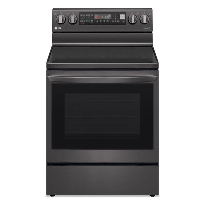 LG 6.3 Cu. Ft. Electric InstaView™ Range with Air Fry - LREL6325D