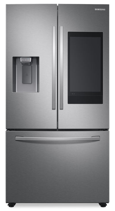 Samsung 27 Cu. Ft. French-Door Refrigerator with Family Hub™ - RF27T5501SR - Refrigerator in Fingerprint-Resistant Stainless Steel