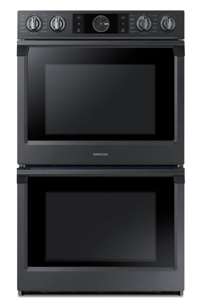 Samsung 10.2 Cu. Ft. Convection Double Wall Oven with Flex Duo™ - NV51K7770DG/AA - Double Wall Oven in Black Stainless Steel