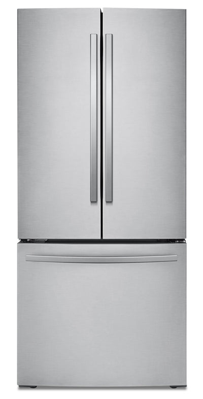 Samsung 21.8 Cu. Ft. French-Door Refrigerator - RF220NFTASR/AA - Refrigerator in Stainless Steel