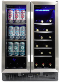 Silhouette Emmental 5.1 Cu. Ft. Dual Zone French-Door Beverage Centre - SBC051D1BSS