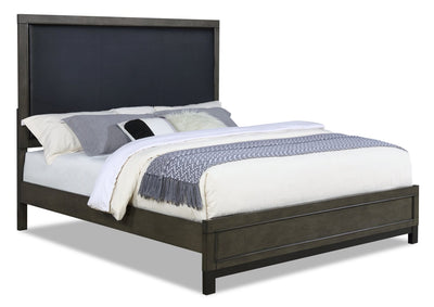 Jade King Bed - Grey | Très grand lit Jade - gris | JADEGKBD