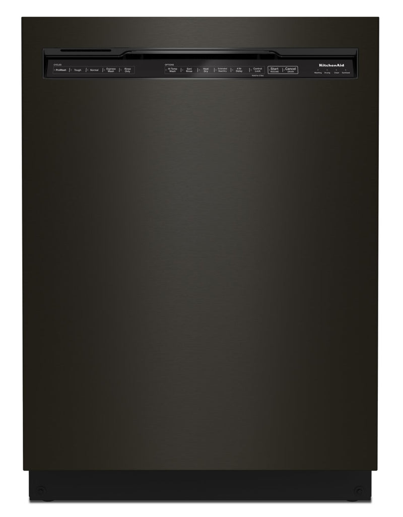 KitchenAid 39 dB Front-Control Dishwasher with Third Level Rack - KDFE204KBS | Lave-vaisselle KitchenAid de 39 dB avec commandes à l'avant et 3e panier - KDFE204KBS | KDFE20KS