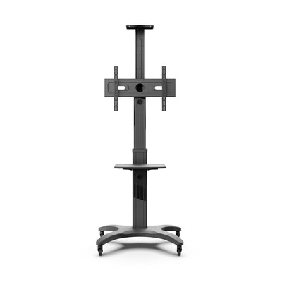 "KANTO TV Mount - Kanto MTMA65PL Height Adjustable Mobile TV Cart with Adjustable Shelf and Built-in Handle for 32"" to 65"" TVs"
