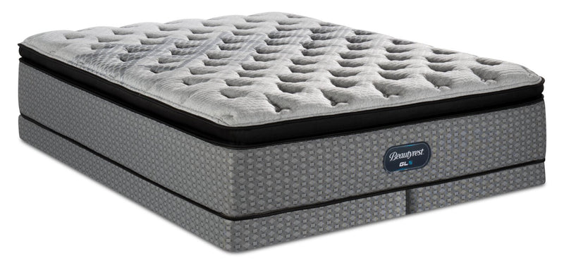 Beautyrest® GL5 Pillowtop Low-Profile King Mattress Set | Ensemble matelas à plateau-coussin à profil bas GL5 de BeautyrestMD pour très grand lit | BRGL5LKP