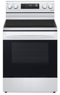 LG 6.3 Cu. Ft. Smart Convection Electric Range with Air Fry - LREL6323S