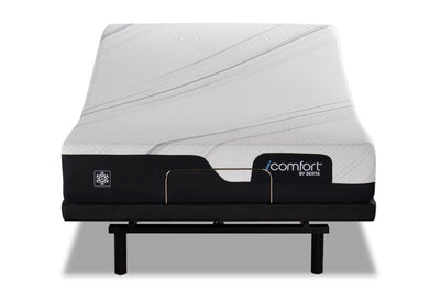 Serta® iComfort Excellence IC X 1.0 Tight-Top Queen Mattress with Motion Essentials IV Adjustable Base