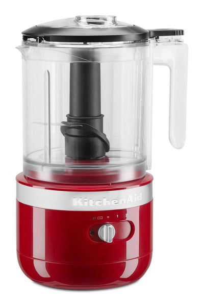 KitchenAid 5-Cup Cordless Food Chopper - KFCB519ER - Food Processor in Empire Red