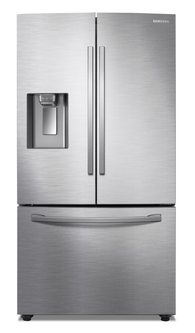 Samsung 22.6 Cu. Ft. Counter-Depth French-Door Refrigerator with Twin Cooling Plus™ - RF23R6201SR/AA - Refrigerator in Stainless Steel