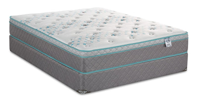 Springwall Orion Eurotop Twin Mattress Set | Ensemble matelas à Euro-plateau Orion de Springwall pour lit simple | ORIONFTP
