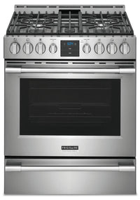 Frigidaire Professional 5.6 Front-Control Gas Range with Air Fry - PCFG3078AF