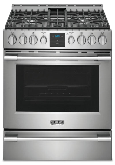 Frigidaire Professional 5.6 Front-Control Gas Range with Air Fry - PCFG3078AF - Gas Range in Smudge-Proof Stainless Steel