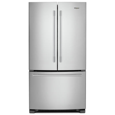 Whirlpool 25 Cu. Ft. French-Door Refrigerator - WRFA35SWHZ - Refrigerator in Fingerprint Resistant Stainless Steel