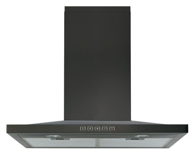 "Broan 30"" Designer Chimney Range Hood - BWS1304BLS - Range Hood in Black Stainless Steel"
