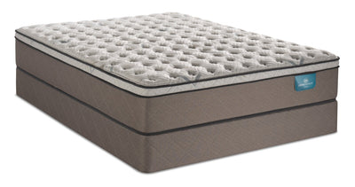 Serta Perfect Sleeper Oasis Rejuvenate Eurotop Twin Mattress Set
