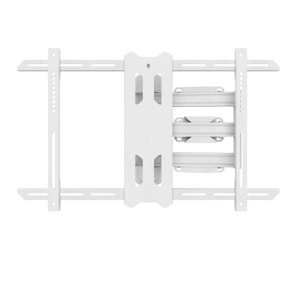 "Kanto PS350W Full Motion TV Wall Mount with 22"" Extension for 37"" to 60"" TVs, White 