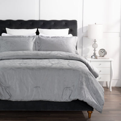 Grand Medallion 3-Piece Full/Queen Comforter Set|Ensemble d'édredon Grand Medallion 3 pièces pour lit double ou grand lit|GRMDL3FQ