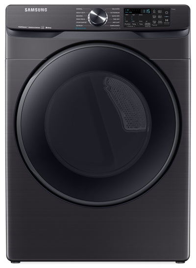 Samsung 7.5 Cu. Ft. Smart Electric Dryer with Steam Sanitize+ - DVE50R8500V/AC - Dryer in Black Stainless Steel