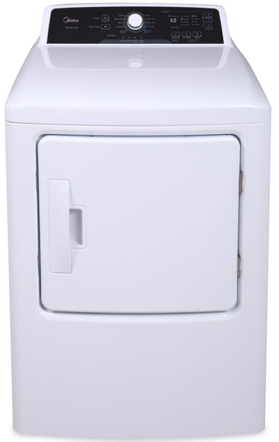 Midea 6.7 Cu. Ft. Electric Dryer - MLE41N1AWW | Sécheuse électrique Midea de 6,7 pi3 à chargement frontal - MLE41N1AWW | MLE41N1W