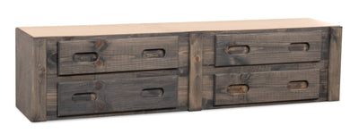 Piper Trundle with Four Drawers | Rangement sous le lit Piper avec quatre tiroirs | PIPEG4UD