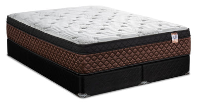 Springwall Copper Strada Eurotop Split Queen Mattress Set | Ensemble matelas à Euro-plateau divisé Copper Strada de Springwall pour grand lit | STRAASQP
