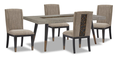 Tate 5-Piece Dining Room Package
