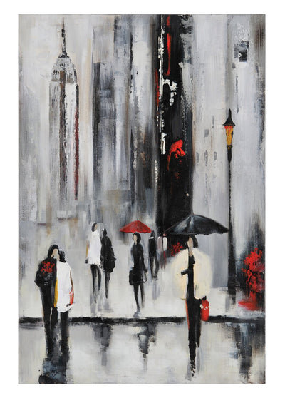 "Bustling City I - 24"" x 36"" 