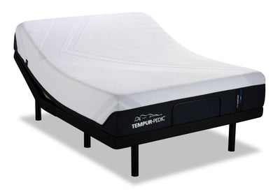 TEMPUR®-ProSupport 2.0 Queen Mattress with Reflexion® by Sealy Boost 2.0 Adjustable Base