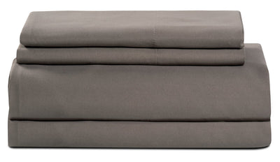 Masterguard® Ultra Advanced 3-Piece Twin Sheet Set - Grey | Ensemble de draps Ultra Advanced MasterguardMD 3 pièces pour lit simple - gris | MGREYSTS