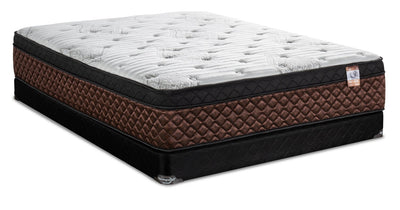 Springwall Copper Strada Eurotop Low-Profile Full Mattress Set | Ensemble matelas à Euro-plateau à profil bas Copper Strada de Springwall pour lit double | STRAALFP