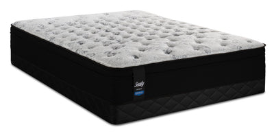 Sealy Posturepedic Proback Folonari Eurotop Low-Profile Twin Mattress Set | Ensemble matelas à Euro-plateau profil bas Folonari PosturepedicMD ProbackMD Sealy pour lit simple | FOLNRLTP